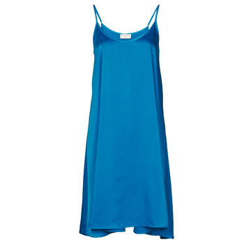 textil Dam Korta klänningar Moony Mood MOLETTE Blå