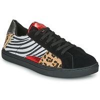 Skor Dam Sneakers Les Petites Bombes MOONWALK Svart