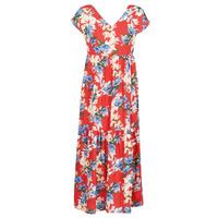 textil Dam Långklänningar Betty London MALIN Röd / Vit / Blå