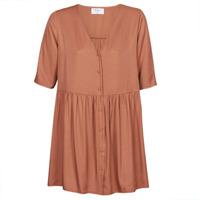 textil Dam Korta klänningar Betty London MOUDENE Brun