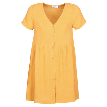 textil Dam Korta klänningar Betty London MARDI Gul