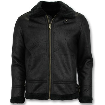 textil Herr Skinnjackor & Jackor i fuskläder Tony Backer Shearling Jacket Lammy Coat Svart