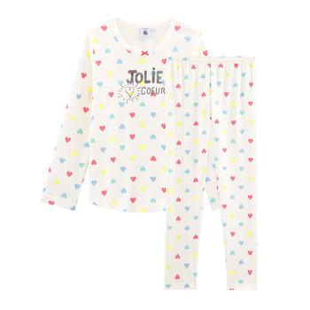 textil Flickor Pyjamas/nattlinne Petit Bateau FIONA Flerfärgad