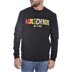 textil Herr Sweatshirts Moschino 3A1701 Svart