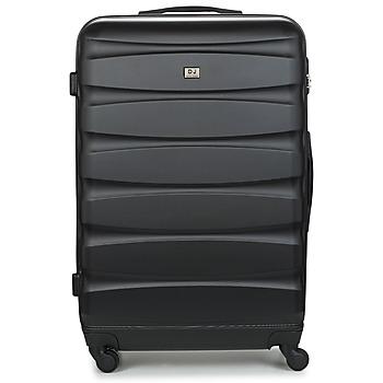 Väskor Hårda resväskor David Jones CHAUVETTINI 107L Svart