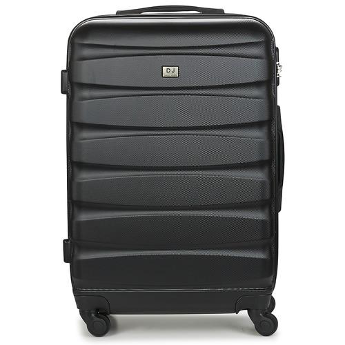 Väskor Hårda resväskor David Jones CHAUVETTINI 72L Svart