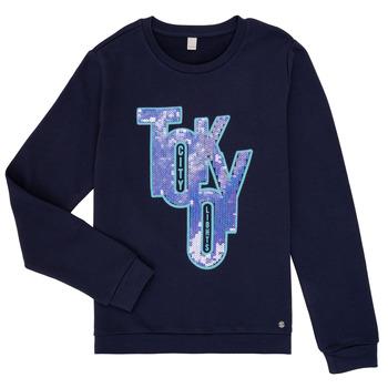 textil Flickor Sweatshirts Esprit ERIN Marin
