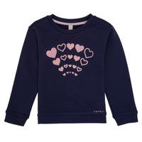 textil Flickor Sweatshirts Esprit ESTER Marin