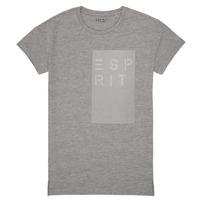 textil Flickor T-shirts Esprit EVELYNE Grå