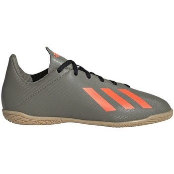 Skor Barn Fotbollsskor adidas Originals X 194 IN Junior Gråa