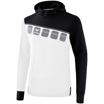 textil Barn Sweatshirts Erima Sweat à capuche enfant  5-C blanc/noir/gris