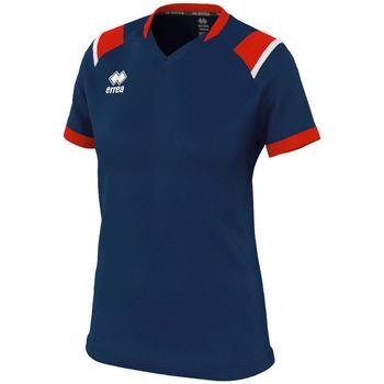 textil Dam T-shirts Errea Maillot femme  lenny bleu/marine/blanc