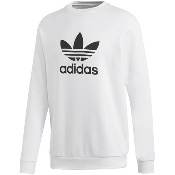 textil Herr Sweatshirts adidas Originals Trefoil Crew Vit
