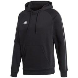 textil Herr Sweatshirts adidas Originals Core 18 Hoody Svarta