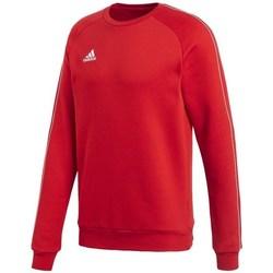 textil Herr Sweatshirts adidas Originals Core 18 Röda