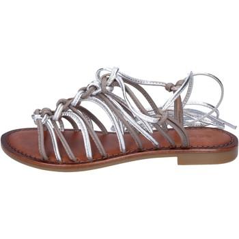 Skor Dam Sandaler Inuovo sandali pelle Grigio