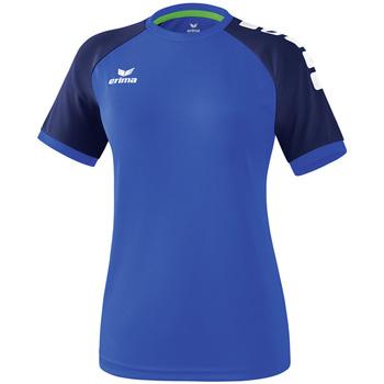 textil Dam T-shirts Erima Maillot femme  Zenari 3.0 bleu/bleu/vert clair
