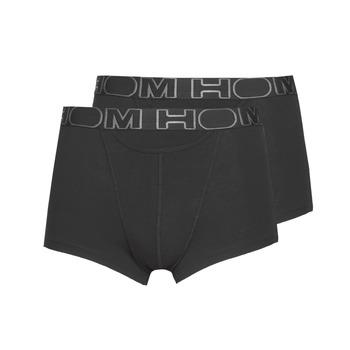 Underkläder  Herr Boxershorts Hom HOM BOXERLINES BOXER BRIEF HO1 PAXK X2 Svart