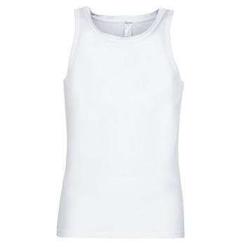 textil Herr Linnen / Ärmlösa T-shirts Hom SUPREME COTTON TANKTOP Vit