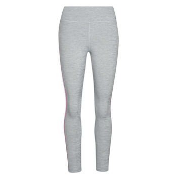 textil Dam Leggings Nike W NIKE ONE TGHT CROP NOVELTY Grå / Rosa / Svart