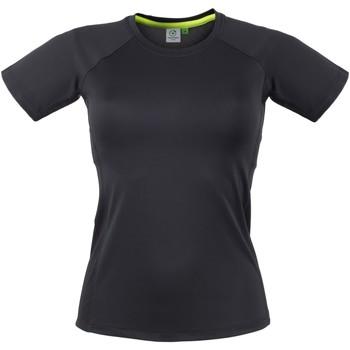 textil Dam T-shirts Tombo Teamsport Slim Fit Svart / Svart