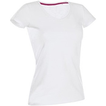 textil Dam T-shirts Stedman Stars Claire Vit