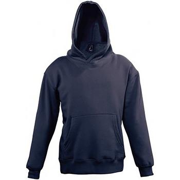 textil Barn Sweatshirts Sols Slam Marinblått