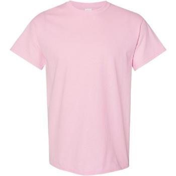 textil Herr T-shirts Gildan Heavy Ljusrosa