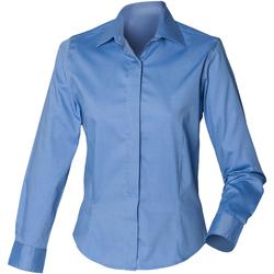 textil Dam Skjortor / Blusar Henbury HB551 Blått för företag