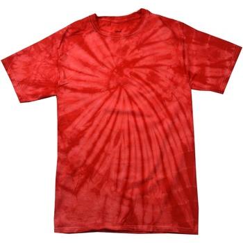 textil Barn T-shirts Colortone Spider Spindel röd