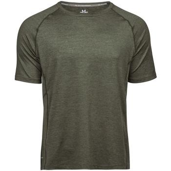 textil Herr T-shirts Tee Jays TJ7020 Oliv Melange
