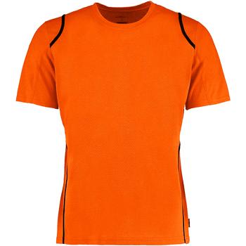textil Herr T-shirts Gamegear Cooltex Fluorescerande orange/svart