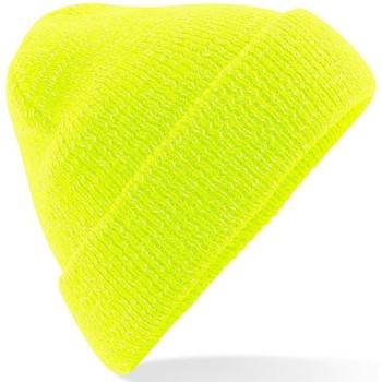 Accessoarer Mössor Beechfield Reflective Fluorescerande gult