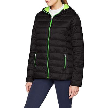 textil Dam Täckjackor Result Snowbird Svart/Lime Green