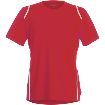 textil Herr T-shirts Gamegear Cooltex Röd/vit