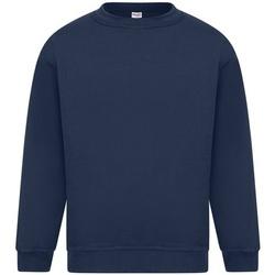 textil Herr Sweatshirts Absolute Apparel Sterling Marinblått