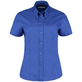 textil Dam Skjortor / Blusar Kustom Kit KK701 Kunglig blå