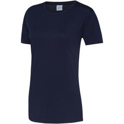 textil Dam T-shirts Awdis JC005 Oxford Navy