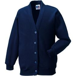 textil Barn Koftor / Cardigans / Västar Jerzees Schoolgear 273B Franska flottan