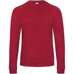 textil Herr Sweatshirts B And C Starlight Chic Red