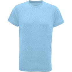 textil Herr T-shirts Tridri TR010 Turkos Melange