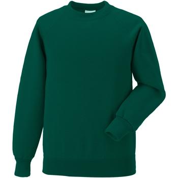 textil Barn Sweatshirts Jerzees Schoolgear 7620B Flaskegrön