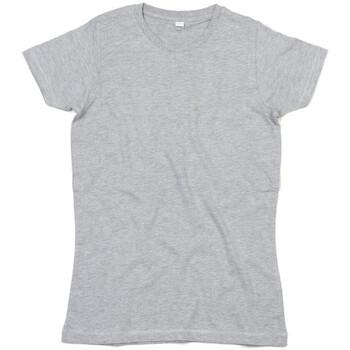 textil Dam T-shirts Mantis M69 Gråmelerad melange