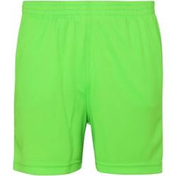 textil Barn Shorts / Bermudas Awdis JC80J Elektrisk grönt