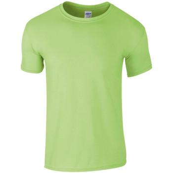 textil Herr T-shirts Gildan SoftStyle Mynta
