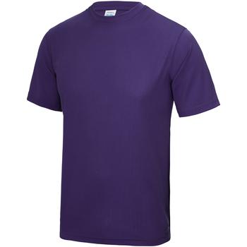textil Barn T-shirts Awdis JC01J Lila