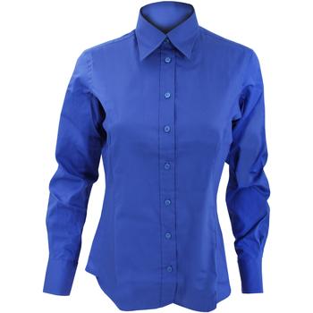 textil Dam Skjortor / Blusar Kustom Kit KK702 Kunglig blå
