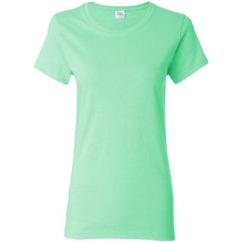 textil Dam T-shirts Gildan Missy Fit Mintgrön