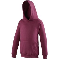 textil Barn Sweatshirts Awdis JH01J Bourgogne