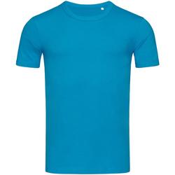 textil Herr T-shirts Stedman Stars Morgan Hawaii Blue